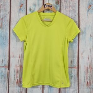 💎 Xersion Athletic Tee Chartreuse Size Small